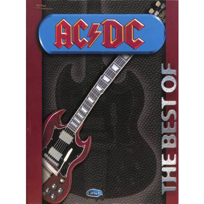 Carisch Ac/dc - Best Of Guitare Tab - broschei