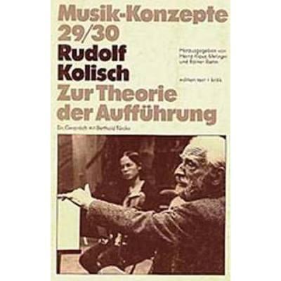 Musik Konzepte 29/30 - Zur Theorie