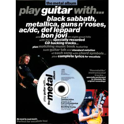 Play guitar with - the metal album