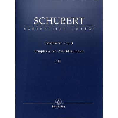 Sinfonie 2 B-Dur D 125