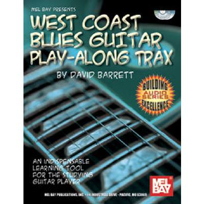WEST COAST BLUES GUITAR PLAY ALONG TRAX