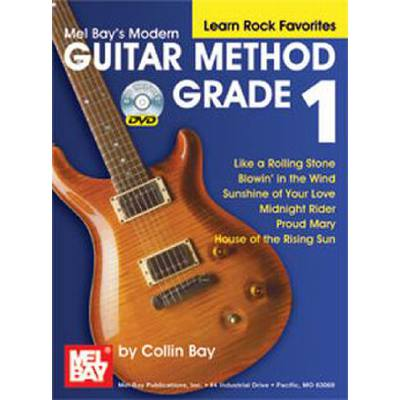 MODERN GUITAR METHOD 1 - LEARN ROCK FAVORITES
