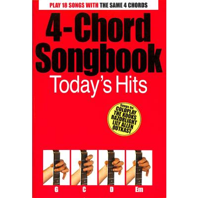 4 CHORD SONGBOOK - TODAY'S HITS