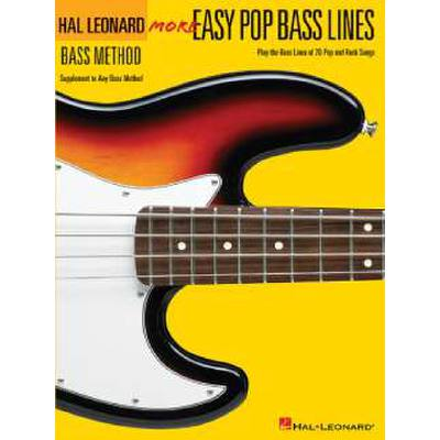 More Easy Pop Bass Lines