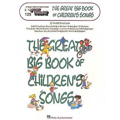 THE GREAT BIG BOOK OF CHILDREN´S SONGS