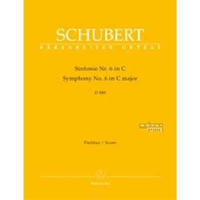 Sinfonie 6 C-Dur D 589