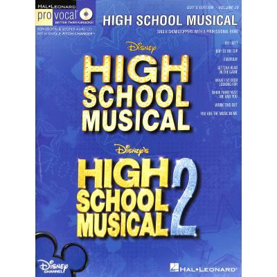 High school musical 1 + 2 - guy's edition