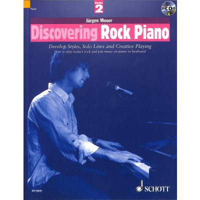 discovering-rock-piano-2, 26.00 EUR @ notenbuch-de