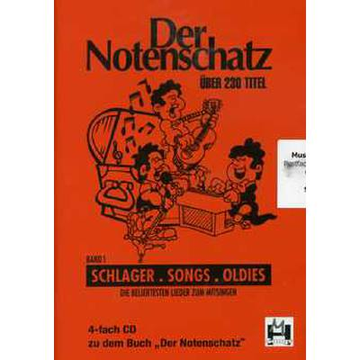 Der Notenschatz - Songs Schlager Oldies Bd 4