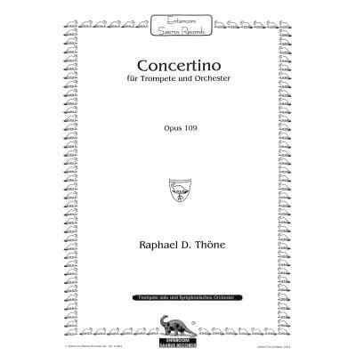 CONCERTINO OP 109