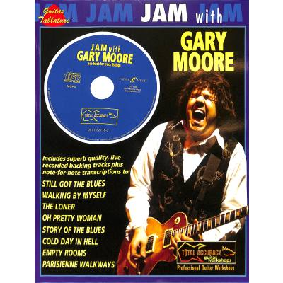 Faber Music Moore Gary - Jam With + Cd Guitar Tab - broschei