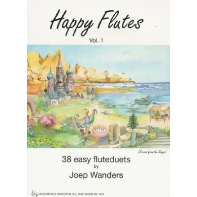 HAPPY FLUTES 1 - 38 EASY FLUTE DUETS