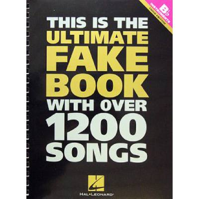 Ultimate Fake Book With Over 1200 Songs