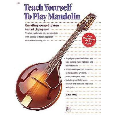 TEACH YOURSELF TO PLAY MANDOLIN