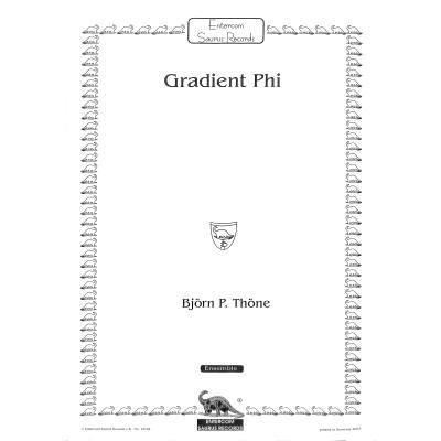 gradient-phi