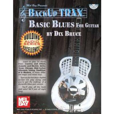 BACK UP TRAX - BASIC BLUES FOR GUITAR
