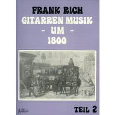 Gitarren Musik 2 Um 1800