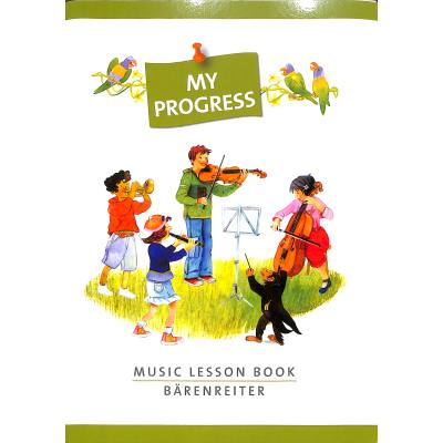My Progress - Music Lesson Book