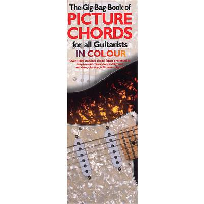 The gig bag book of picture chords for all guitarists on colour