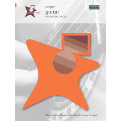 Copper guitar ensemble pieces