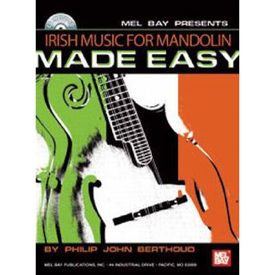 IRISH MUSIC FOR MANDOLIN - MADE EASY