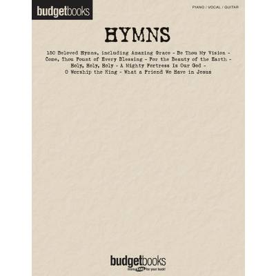 BUDGET BOOKS - HYMNS