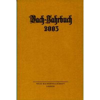bach-jahrbuch-2003