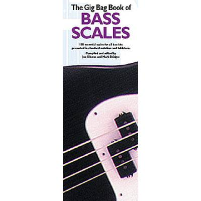 Gig bag book of bass scales