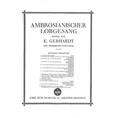 AMBROSIANISCHER LOBGESANG