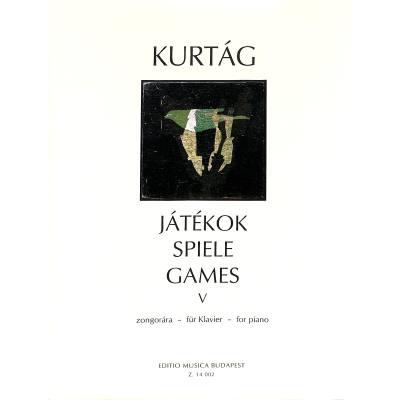 JATEKOK 5 (SPIELE FUER KLAVIER)