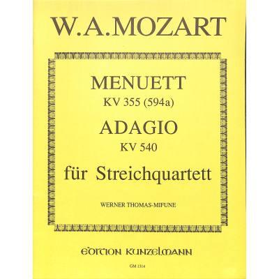 menuett-kv-355-adagio-kv-540