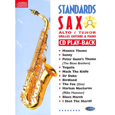 STANDARDS SAX Saxophone Saxophon