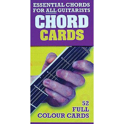 Essential chords for all guitarists - chord cards
