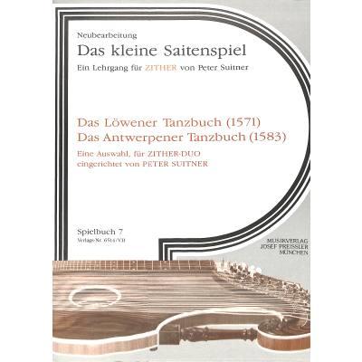 LOEWENER TANZBUCH - ANTWERPENER TANZBUCH
