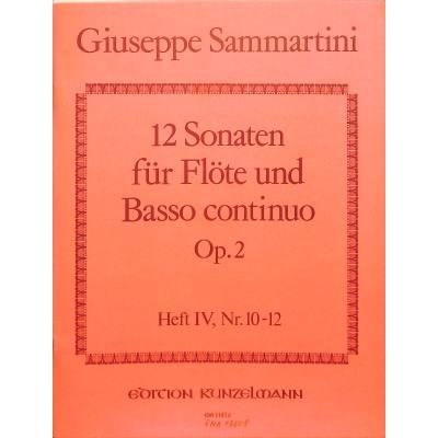 12-sonaten-op-2-4-10-12-