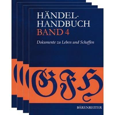 HAENDEL HANDBUCH 1-4
