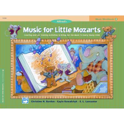 MUSIC FOR LITTLE MOZARTS - MUSIC WORKBOOK 2