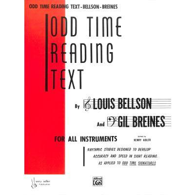 Odd time reading