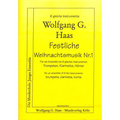 Weihnachtsmusik 1 haas wolfgang g haas162 1 for Wolfgang hieber