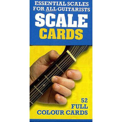 Essential scales for all guitarists scale cards