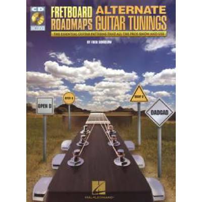 Fretboard roadmaps - alternate guitar tunings