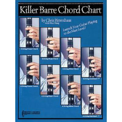 Killer barre chord chart
