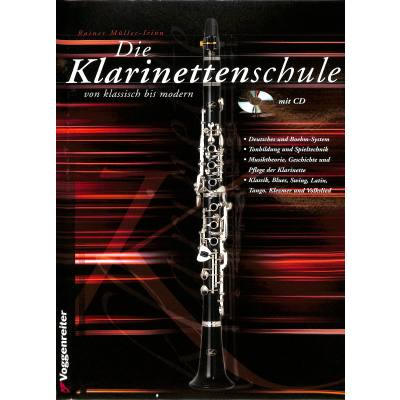 Die Klarinettenschule von klassisch bis modern