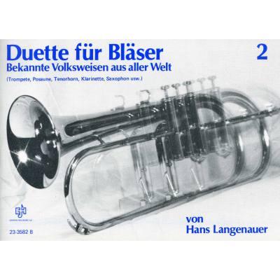 Duette für Bläser 2