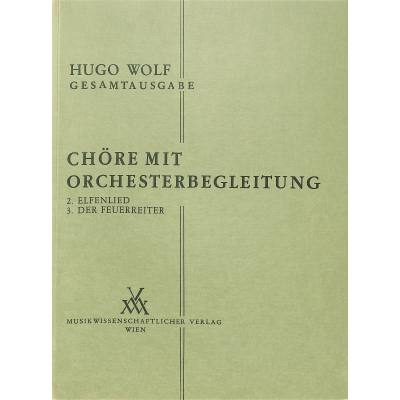 CHOERE MIT ORCHESTERBEGLEITUNG W 11/2