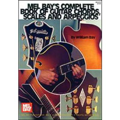 Complete book of guitar chords scales + Arpeggios