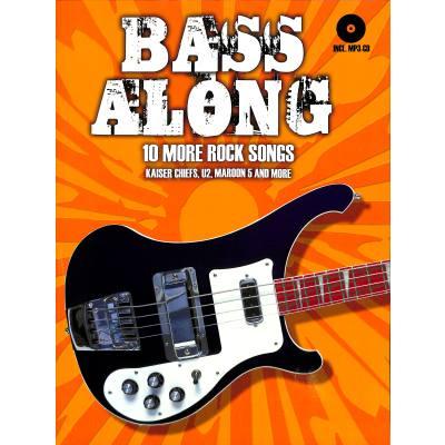 Bass along 2 - 10 more Rock songs