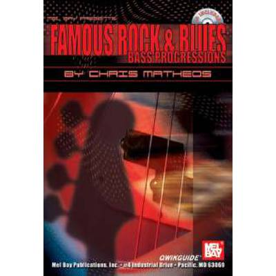Famous Rock + Blues bass progressions