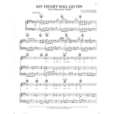 Titanic Lied Text