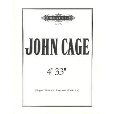 """4'33"""" - Original Version"""